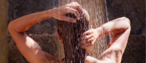 Can hot water cause hair loss